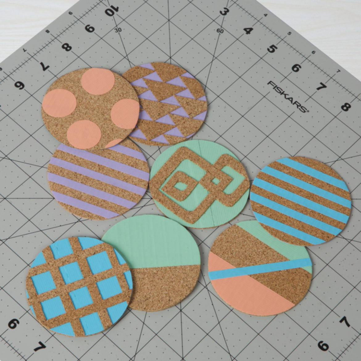 Various patterns and designs on other coasters for inspiration