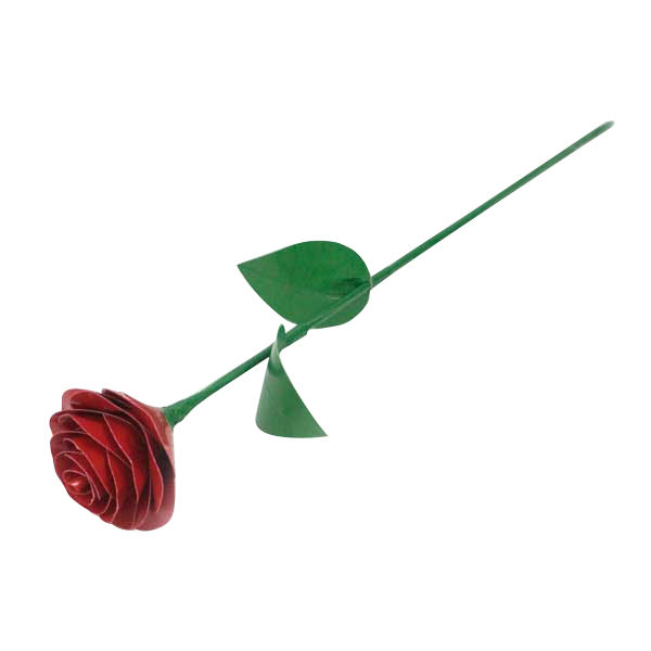 Completed Duck Tape® Rounded Petal Rose