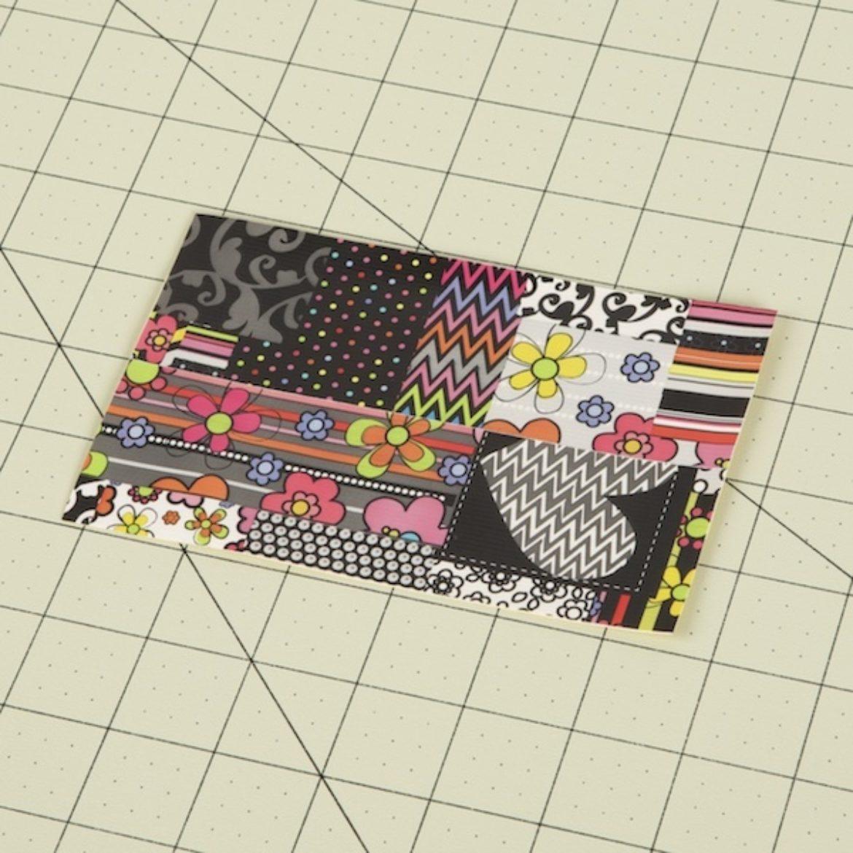 Duck Tape Fabric folded in half