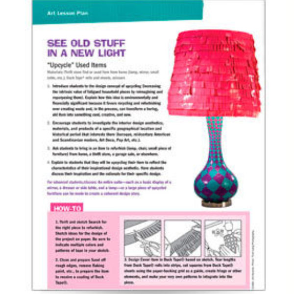 See Old Stuff In A New Light Lesson Plan
