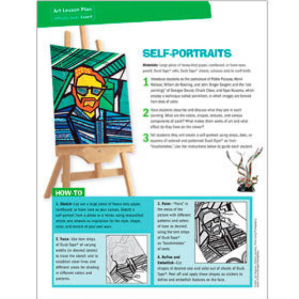 Self Portraits Lesson Plan