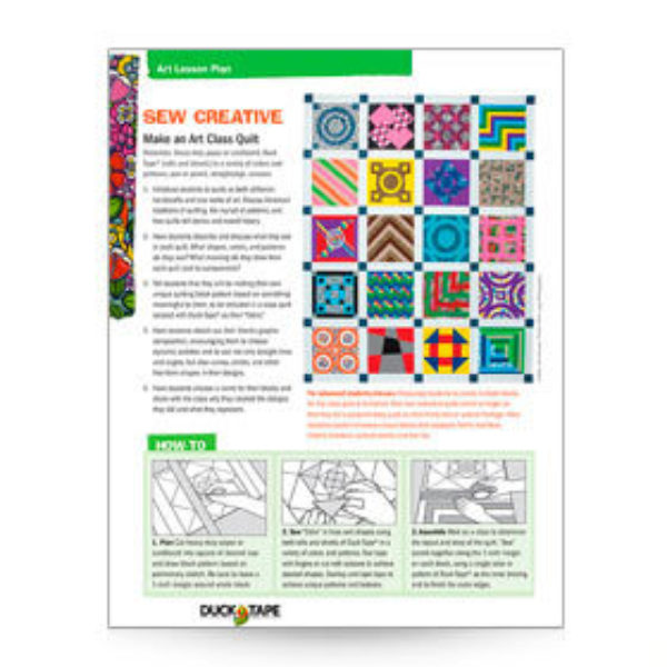Sew Creative Lesson Plan