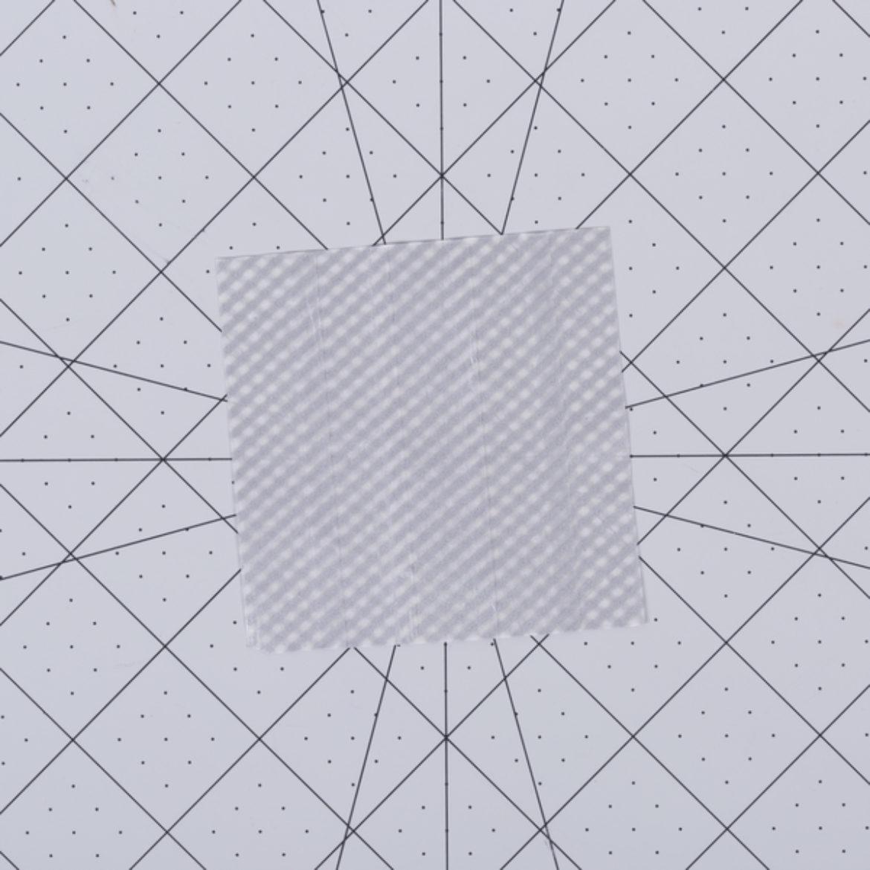 Washi Snowflake Step 1