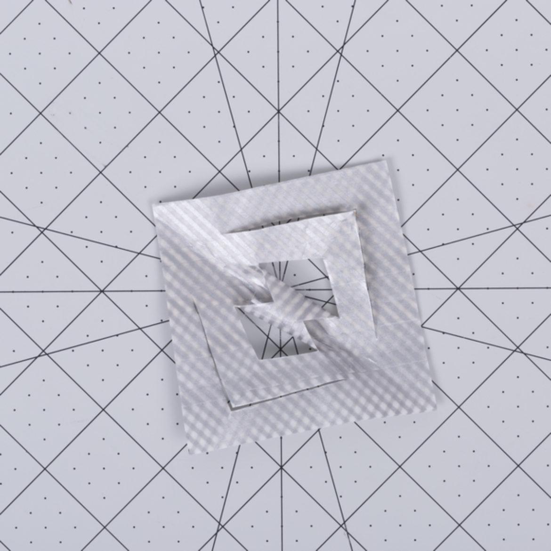 Washi Snowflake Step 4