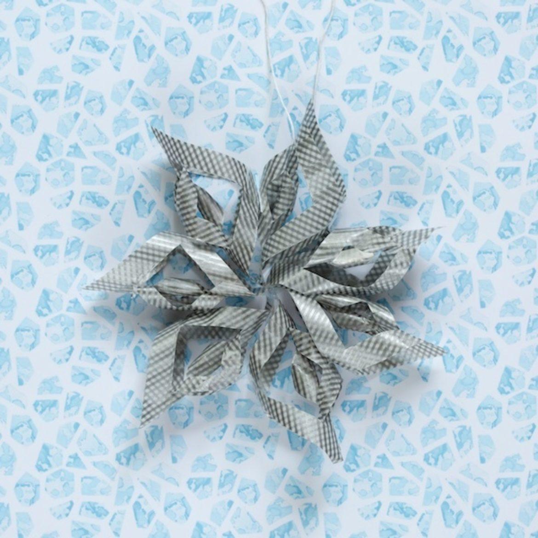 Washi Snowflake
