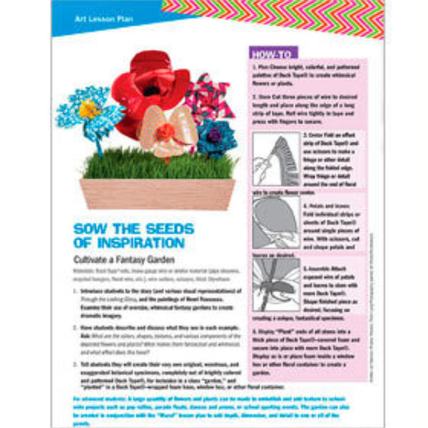 Sow The Seeds Of Inspiration Lesson Plan