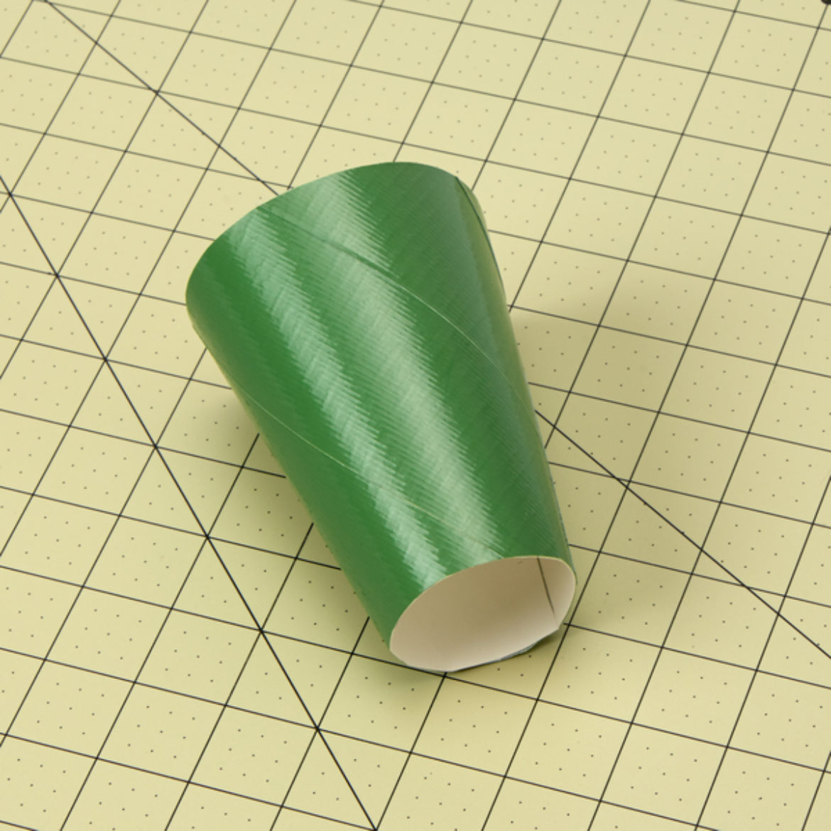 fold the Arch into a flared cylinder