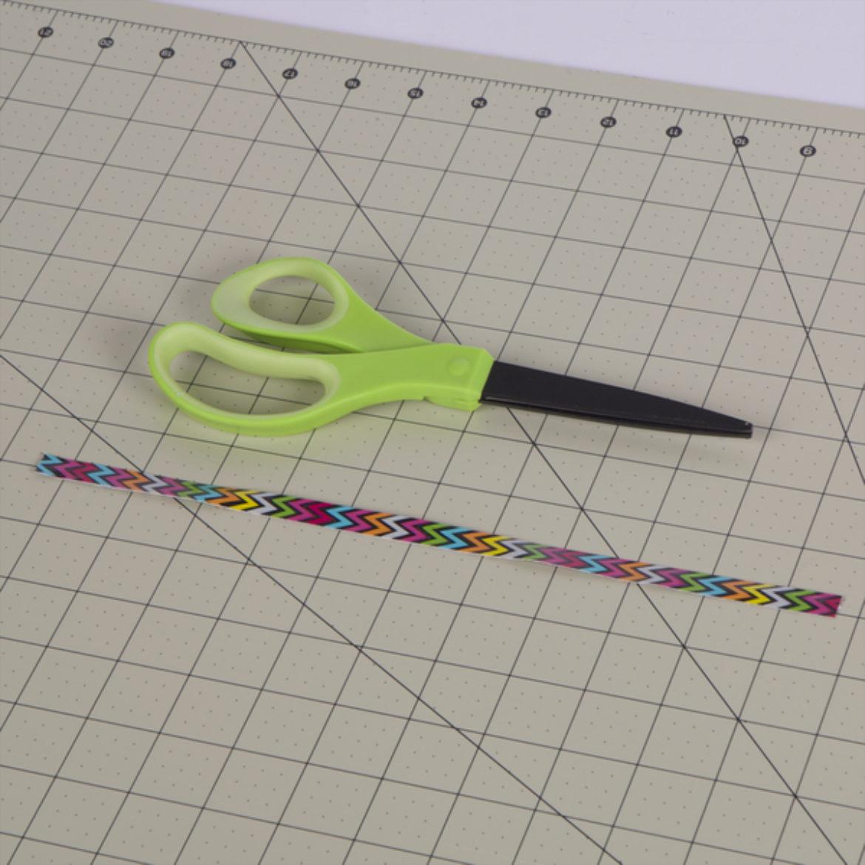 Long, thin strip of pattern Duck Tape