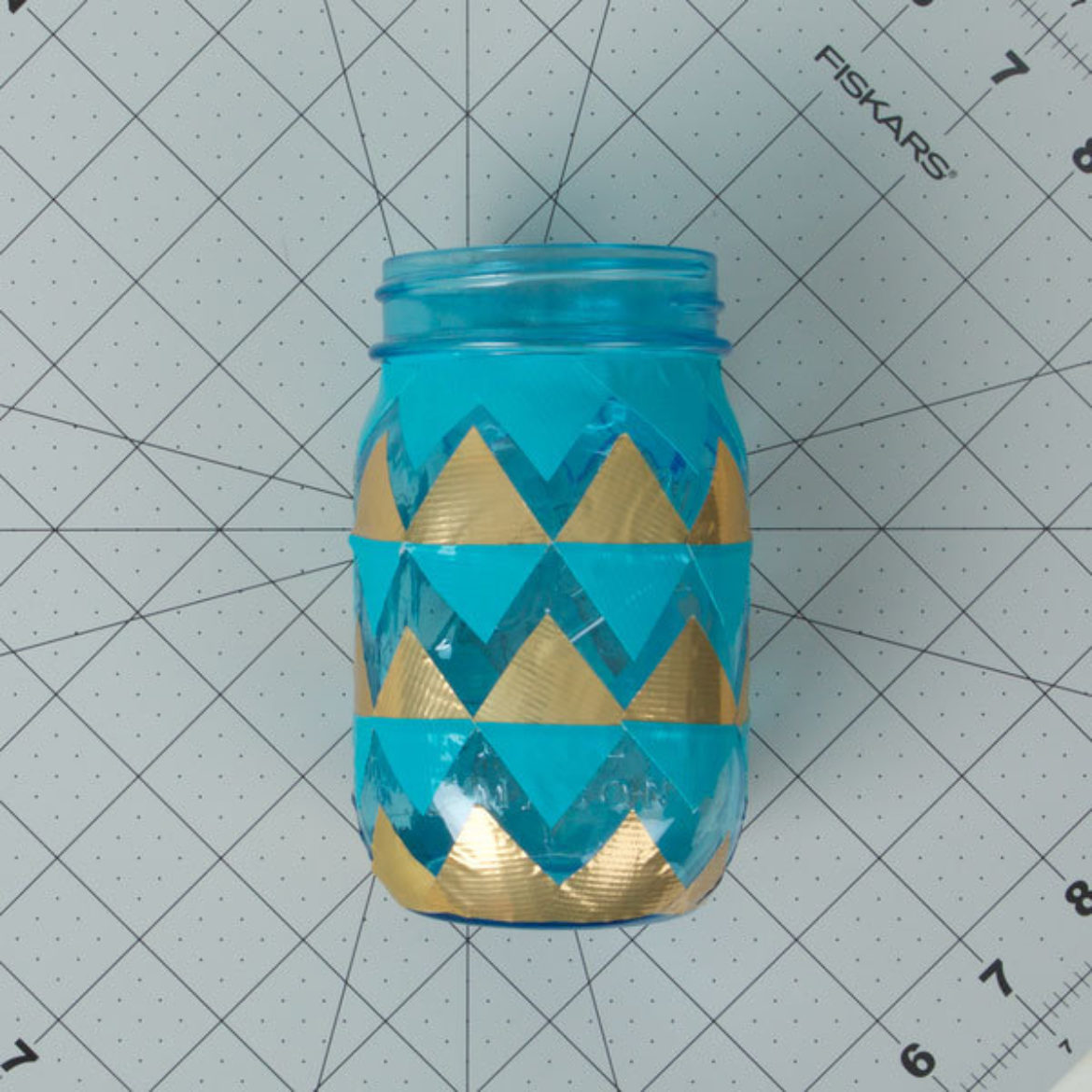 Tissue Mason Jar Step 2