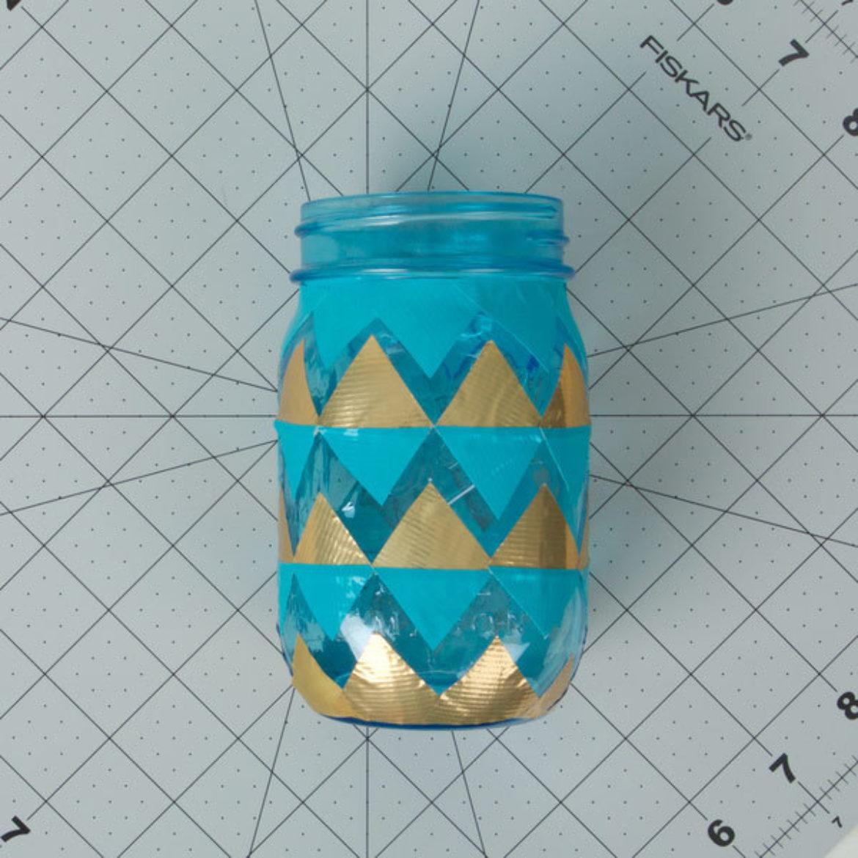 Tissue Mason Jar Step 2
