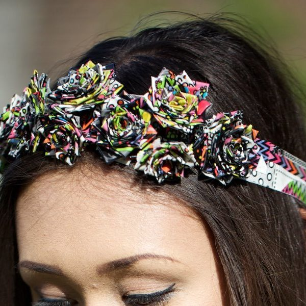Duck Tape Crafts How To Make A Rose Headband With Laur Diy