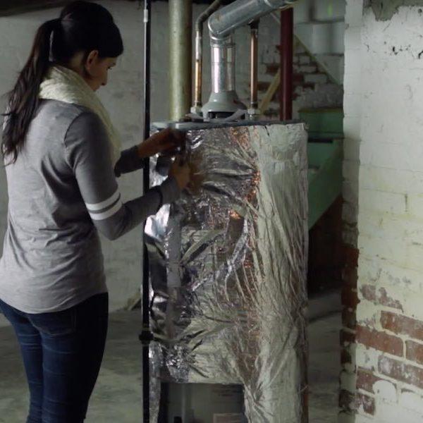 Weatherization Water Heater Insulation Blanket