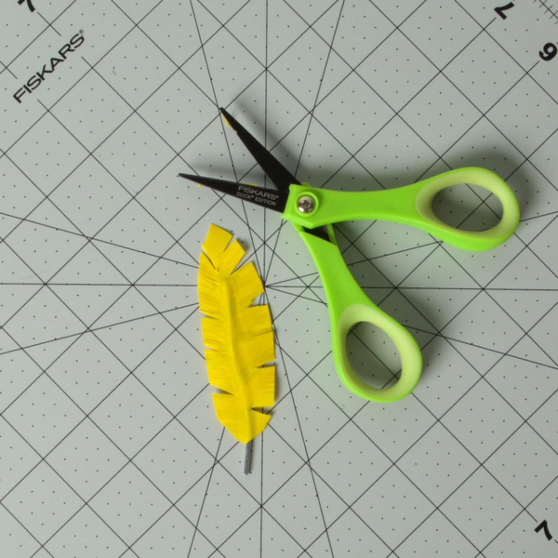 Washi Feather Step 4