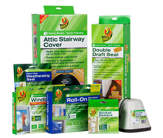 <p>Stop drafts cold. When winter strikes, Duck®Brand Home Weatherization Products help you save money on costly energy bills. Easy to install, these products help keep your home warm in the winter and cool in the summer.</p>