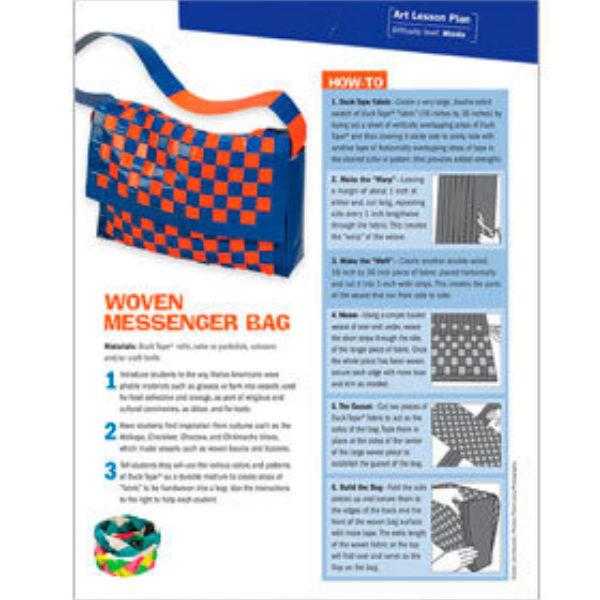 Woven Messenger Bag Lesson Plan
