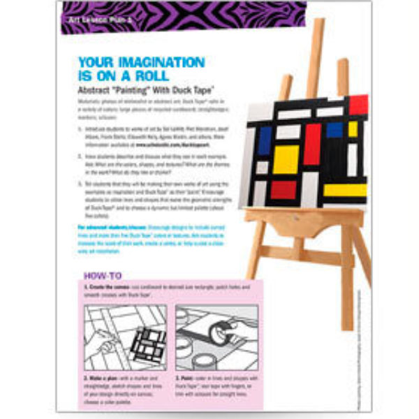 Your Imagination Is On A Roll Lesson Plan