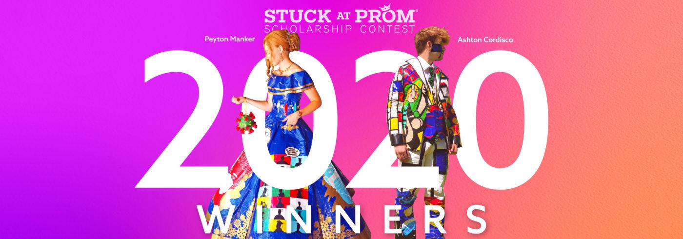 2020 Stuck at Prom Winners Peyton M. and Ashton C.